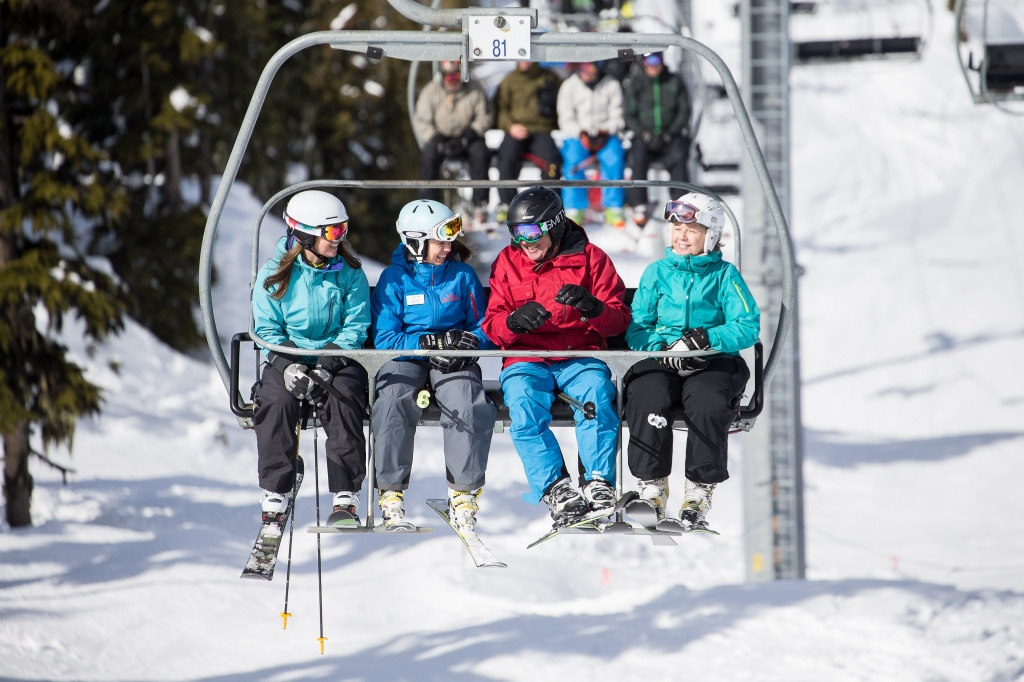 Whistler Blackcomb Paul Morrison crystal chair