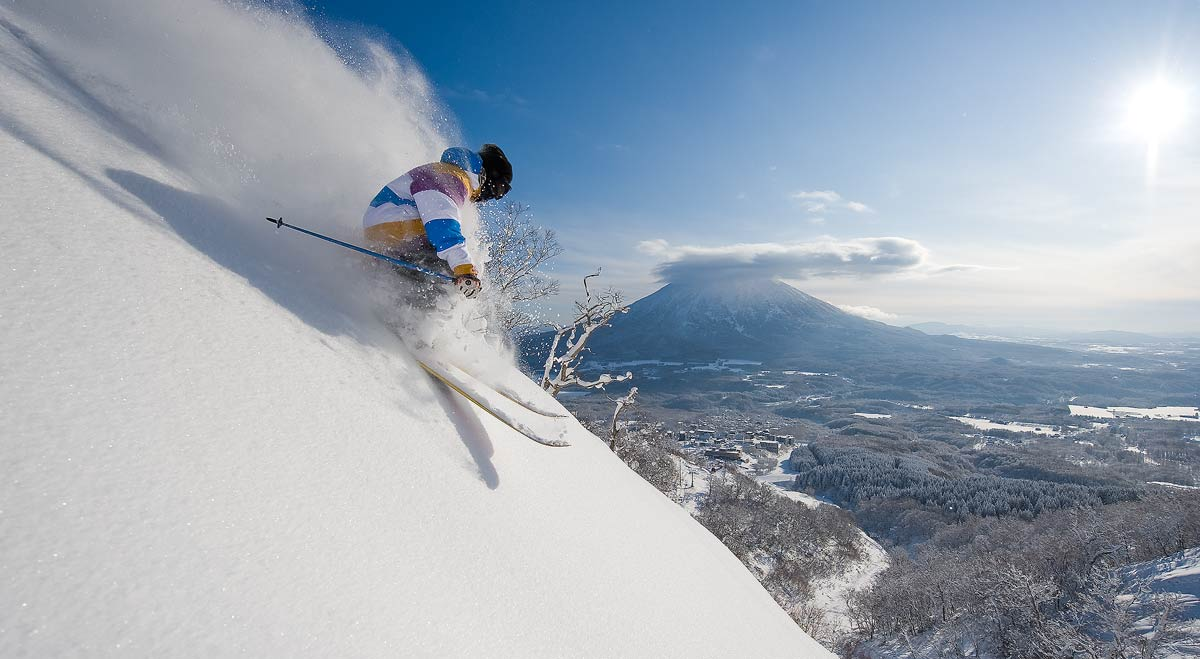 Niseko snow, Japan