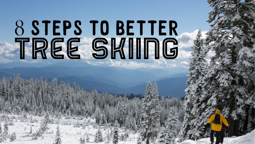 8 steps to better tree skiing